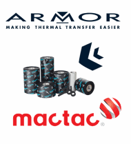 ARMOR and Mactac logo to illustrate the partnership