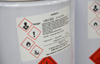 large label chemical drum ghs 0