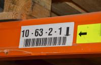 shelf stock warehouse labels